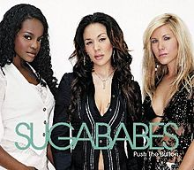 Push the Button by the Sugababes - Lauren Mayhew Author